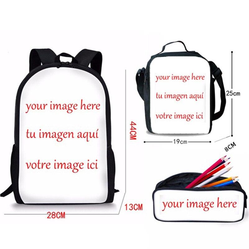 FORUDESIGNS/с рисунком «Щенячий патруль» с принтом милые школьные сумки школьников 3 шт. высокое качественные школьные сумки книжная сумка Повседневное подростков дорожная сумка для ноутбука рюкзак - Цвет: CGK