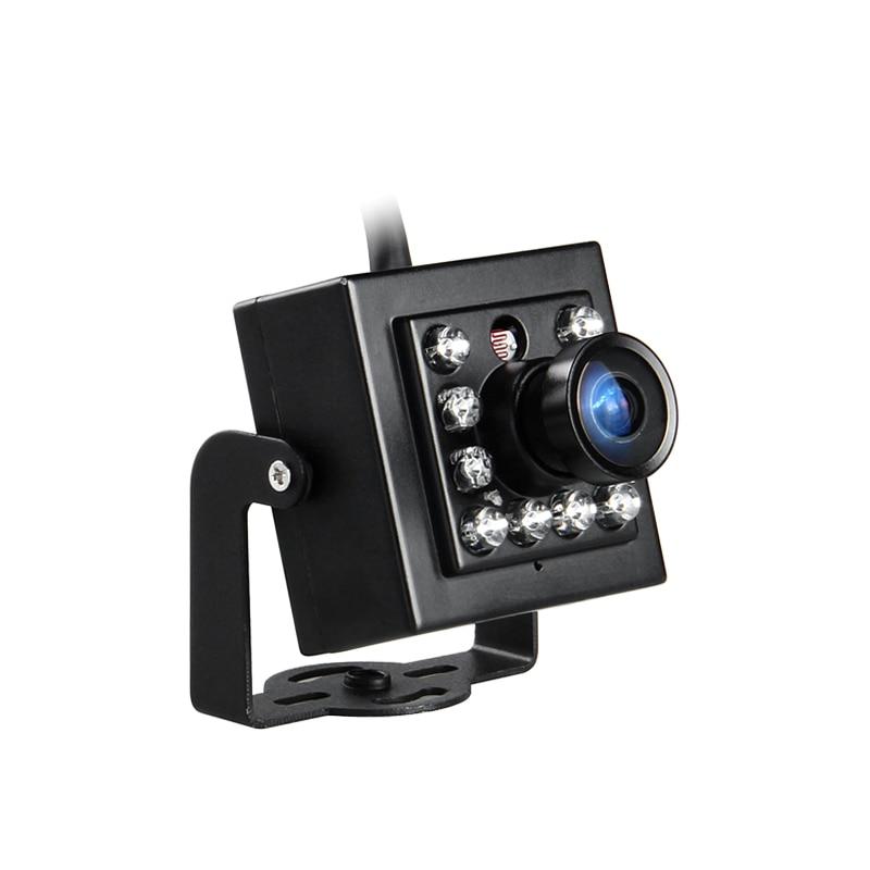 Freeshipping CCD 420TVL 600TVL 700TVL CCTV Camera Mini Security Analog Camera indoor IR Night Vision For