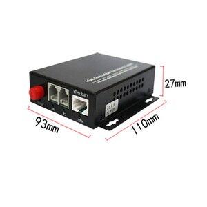 Image 3 - גבוהה באיכות 2 ערוץ PCM קול טלפון סיבים אופטי מדיה ממיר עם Ethernet FC מצב יחיד 20Km