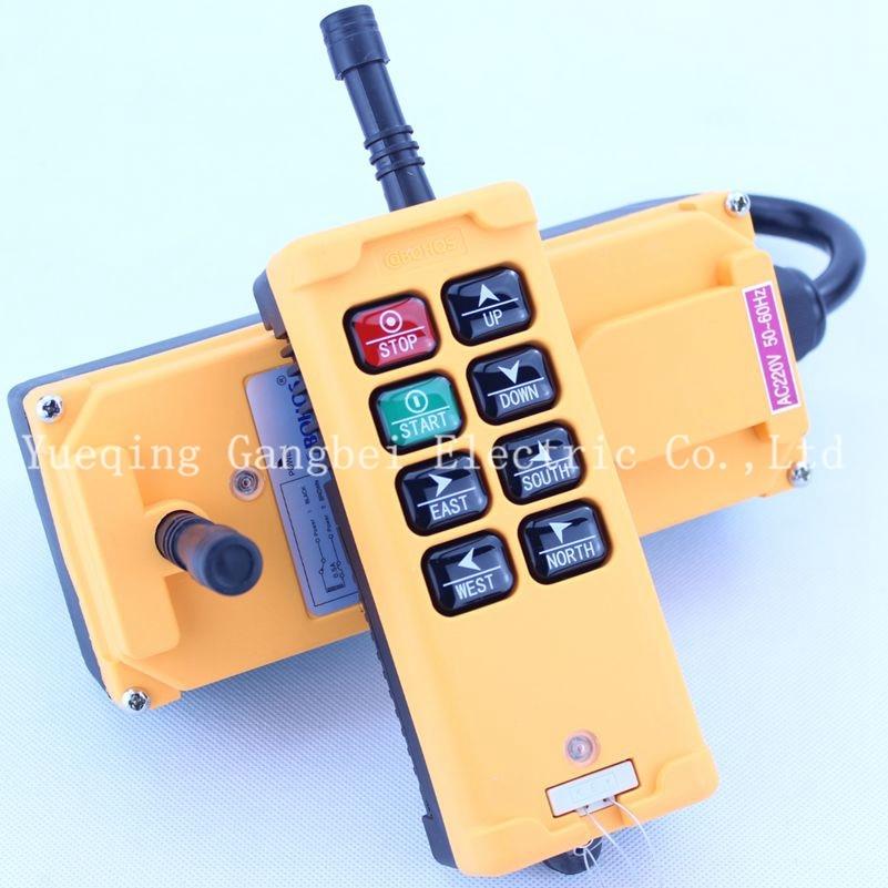 HS-8   Hoist crane remote control wireless radio Uting remote control 380VAC 220VAC 36VAC  12VDC-24VDC
