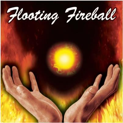 Floating Fireball (Gimmick),Fire Magic Tricks,Close Up Magic Props,Stage, Street,Comedy, ...