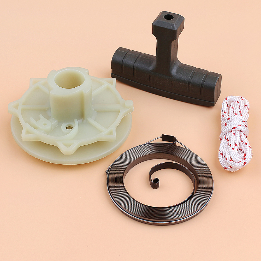 Recoil Spring Starter Pulley Kit for <font><b>Mcculloch</b></font> MACCAT <font><b>335</b></font> 338 435 440 Gasoline <font><b>Chainsaw</b></font> Parts 545008015 image