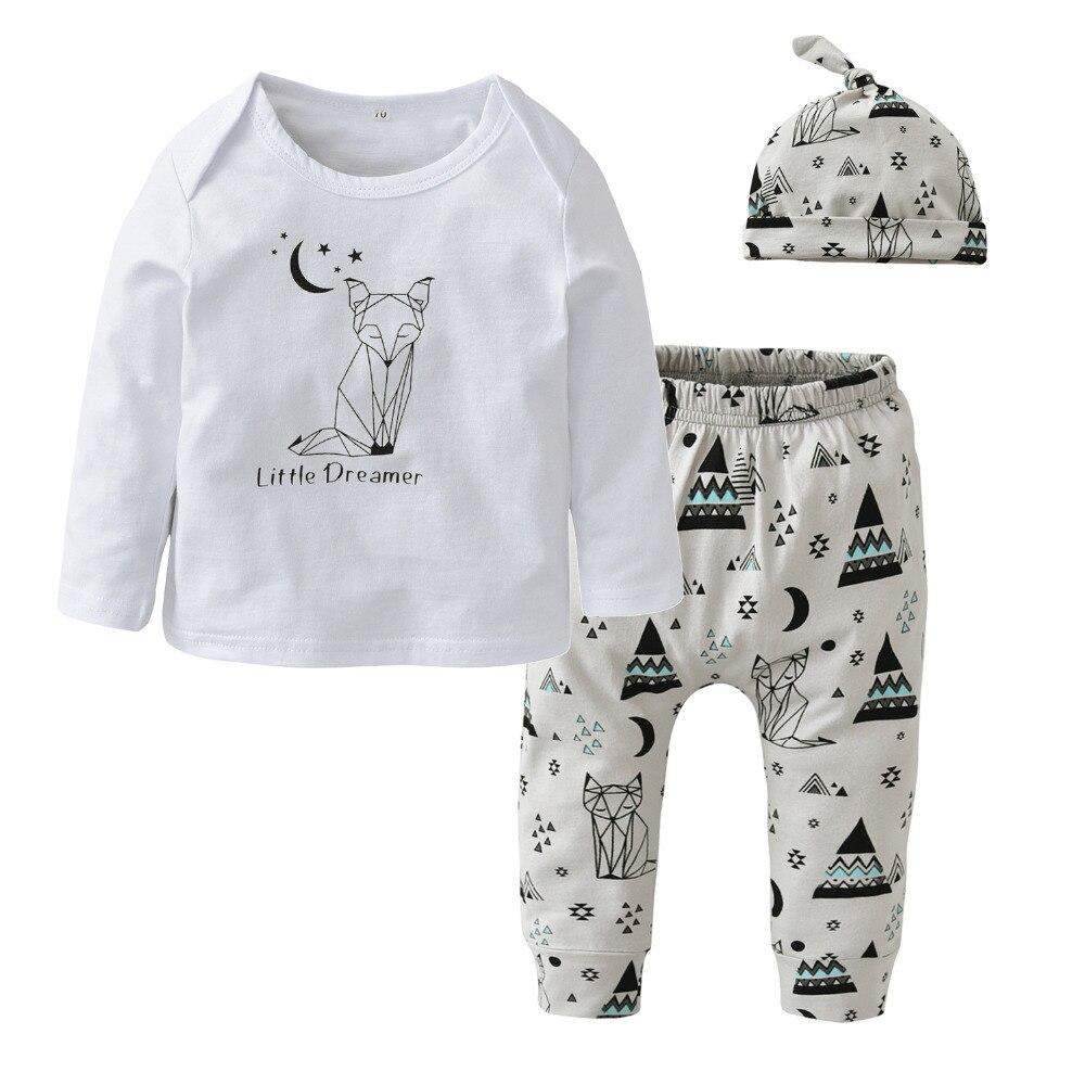 Aliexpress.com : Buy Baby Boy Clothing Sets Newborn Baby Girl Clothes Cotton Cartoon Long
