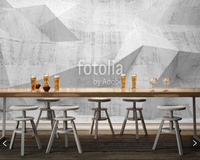 Custom Abstract Wallpaper Abstract Concrete 3D Geometric Mural For Living Room Bedroom Sofa Background Papel De