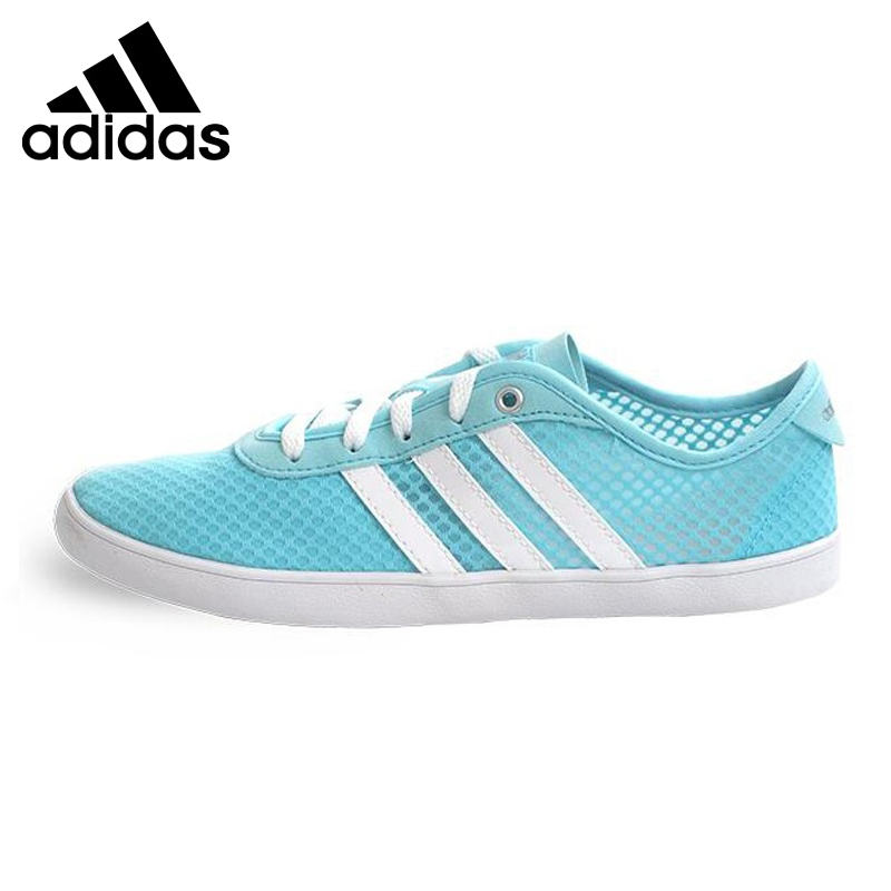 Prix pour Original Nouvelle Arrivée Adidas NEO de Femmes Coloré Planche À Roulettes Chaussures Sneakers