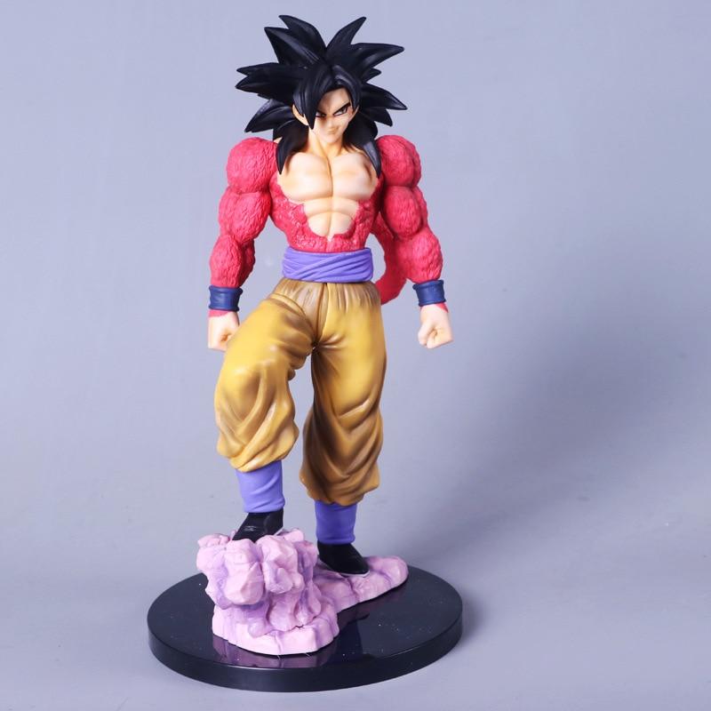Japan Anime Action Figure Dragon Ball Z Son Gohan Super Saiyan 4 Son Goku Figurine Toys