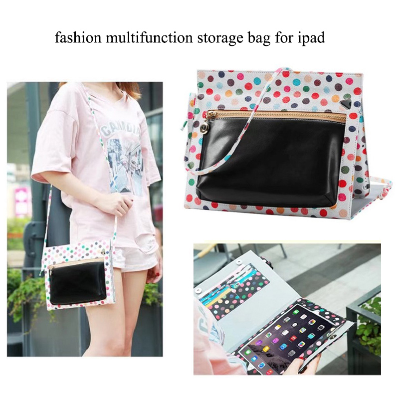 Tablets Case for ipad 2 3 4 Multifunction Storage Bag for ipad pro 9.7 mini 2 3 Flip Stand PU Tablet Cover Case Auto Sleep travel aluminum blue dji mavic pro storage bag case box suitcase for drone battery remote controller accessories