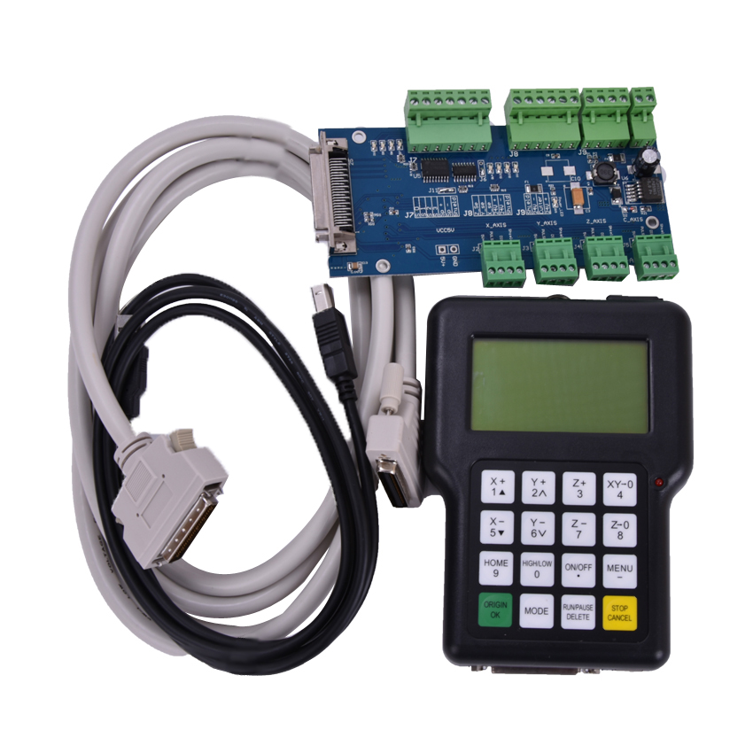 1pc  New CNC Wireless Channel For CNC Router CNC Machine DSP Controller 0501 DSP Handle English Version