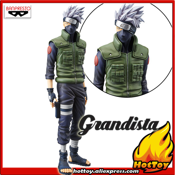 100% Original Banpresto Grandista Shinobi Relations Collection Figure - HATAKE KAKASHI from
