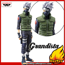 100% Original Banpresto Grandista Shinobi Relations Collection Figure - HATAKE KAKASHI from NARUTO Shippuden