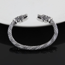 Viking Dragon Bangle Bracelet