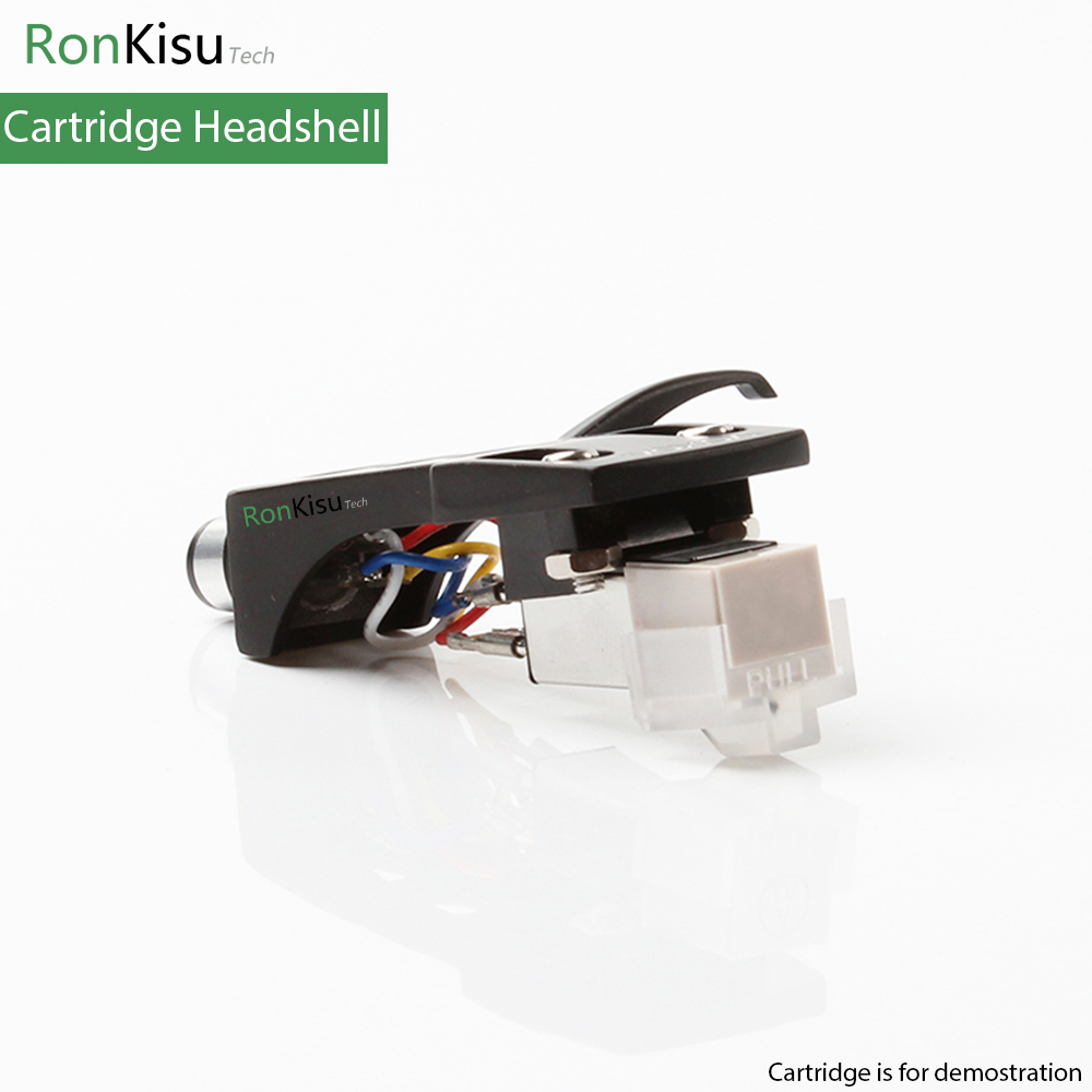 Leory 1pcs Magnetic Cartridge Stylus With Turntable Headshell 4 Pin Phono Wiring Head Tone Arm For Universal Version Vinyl Shell