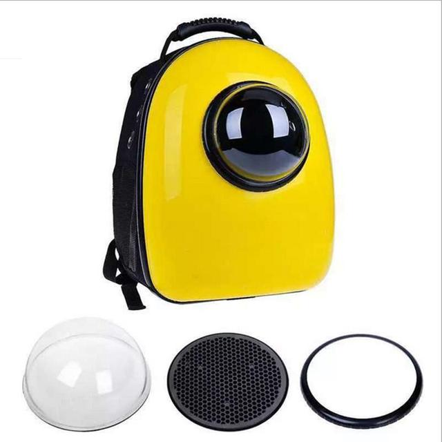 Space Capsule Shaped Pet Carrier  Breathable pet backpack PC pet dog  outside Travel bag portable bag  cat bags