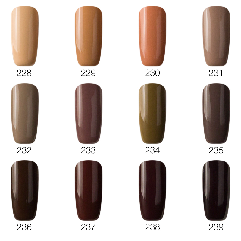 Saviland 1pcs Brown Color Nail Gel Polish Chocolate Soak Off Varnish Primer Lacquer Glue Manicure In From Beauty Health On