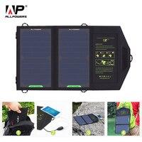 ALLPOWERS Solar Panel 10 W 5 V Solar Ladegerät Tragbare Solar Batterie Ladegeräte Lade für Telefon für Wandern etc. im freien.