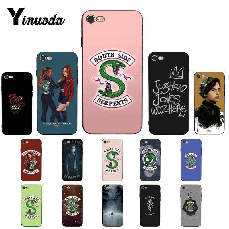 Yinuoda Riverdale Southside popular TV DIY Luxury High-end Protector Phone Case for iPhone 8 7 6 6S 6Plus X XS MAX 5 5S SE XR 10