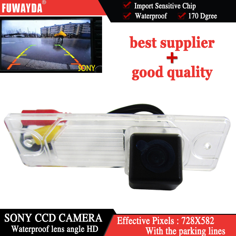 FUWAYDA SONY CCD Chip Sensor Car RearView Reverse Parking Backup Safety DVD GPS NAV Kit  ...