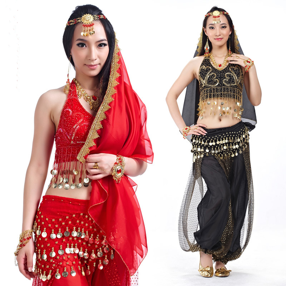 Hot Bra Pants Nice Belly Dance Wears Costumes Sexy Indian