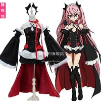 FREE SHIPPING 2019 End in the blazing angels g · mining Percy vampire queen cosplay costume gothic Lolita