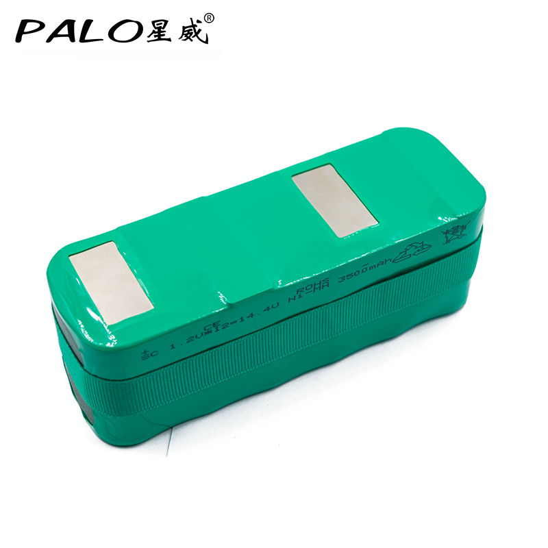 PALO New-Type Battery 14.4V Ni-MH 3500mAh Vacuum Cleaner Robot Rechargeable Battery Pack For yijie X1 X2 X3 XL3 KK-1 KK-2 KK-3 dialog kk 03u