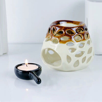 Furnace Aroma Essential Oil Lamp Hollowing Candle Hotel Home Romantic Decor High Quality Crafts Gifts Ornament Holder 60