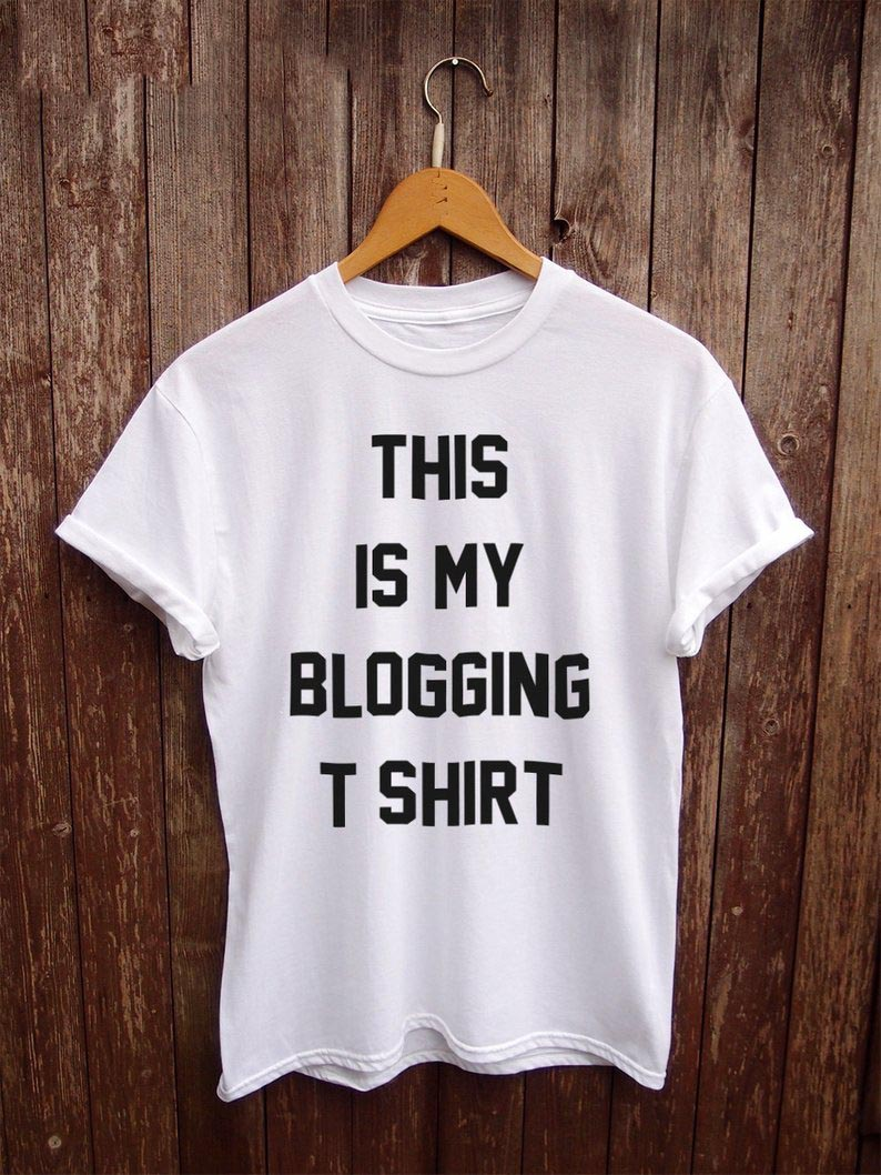 Sugarbaby This is my Blogging T shirt Funny Tumblr shirt Blogger gifts gifts for her funny womens t shirts Tumblr Clothing image