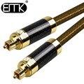 EMK Optical Audio Cable Digital Sound SPDIF Coaxial Cord Toslink Fiber Optic Cable OD8.0