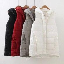 XL-4XL 110-128 CM Outono inverno feminino big fat além de roupas tamanho outerwear mulheres lady casual designer quente solto casaco colete 1744