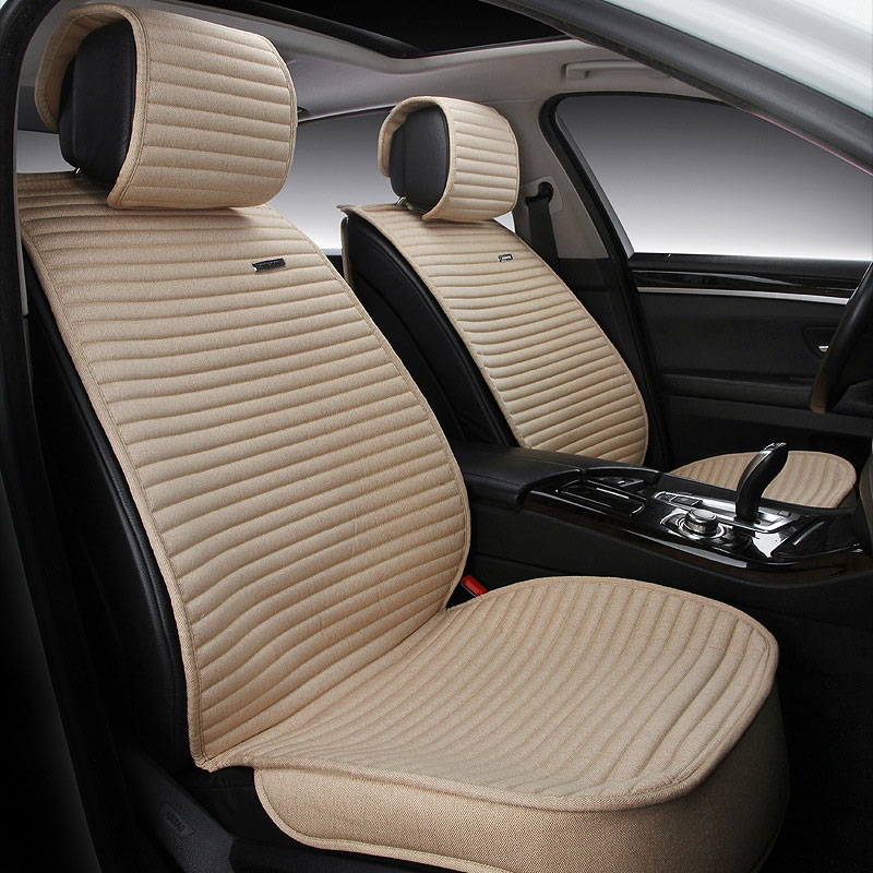 for mercedes benz c200 e260 e300 A S series ML350 GLK brand leather car seat cover front and back set car cushion cover