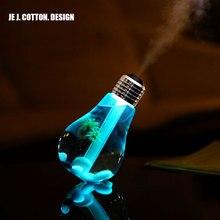 400 мл светодиодные лампы воздуха ультразвуковой увлажнитель для домашнего Эфирные масла диффузор форсунки Освежители воздуха тумана с свет в ночь