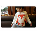 2016 Autumn Winter Sweater Kids Children Knitted Cardigan Sweater Pullover Infant Coat Fox Baby Boys Girls Outerwear Clothes