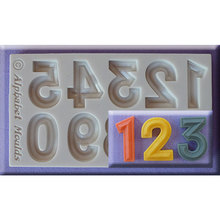 Silicone Mold Letters Number Alphabet Cake Stencil Chocolate Fondant Mould Decorating Kitchen Banking Accessories Tools