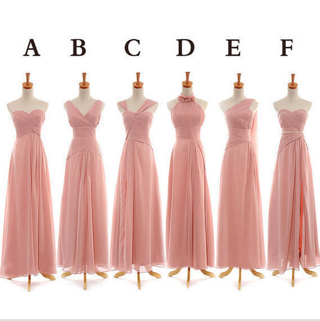 Popular Gold Chiffon Bridesmaid Dresses-Buy Cheap Gold Chiffon ...