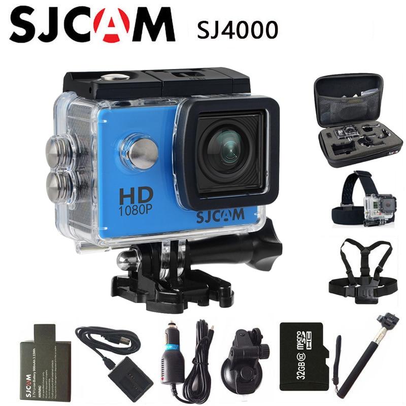 Originale SJCAM SJ4000 Sport Action Camera 2.0 pollice HD 1080 P Diving 30 M Impermeabile DV Sport Estremi mini Videocamera SJ 4000 Cam