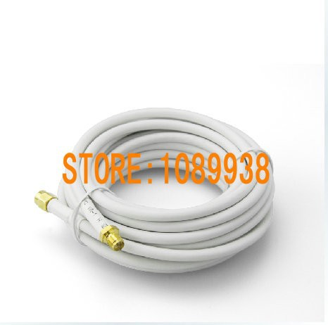 imágenes para Alambre de cobre puro cable de extensión de la RG58 alimentador de cinta blindaje neta baja pérdida de alta frecuencia ( rf ) cable Coaxial línea de 5 m