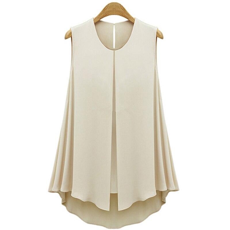 HTB1FPdKJXXXXXX0apXXq6xXFXXXq - Summer Shirts Plus Size Ruffles Tops Sleeveless O-neck