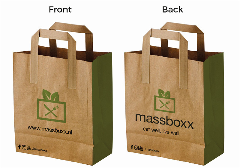 Manufacturers wholesale 1000pcslot high quality promotional craft manufacturers wholesale 1000pcslot high quality promotional craft brown paper shopping bags customized printing logo kraft bags in shopping bags from sciox Choice Image
