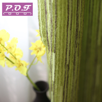 P O F Curtain For Living Or Bedroom Solid Pattern High Quality Chenille Fabric High Shading