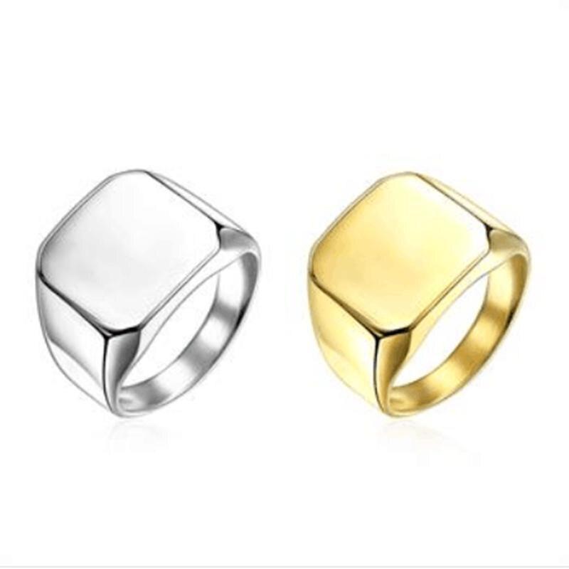 Klasický prsten z titanové oceli, snubní prsteny pro muže a ženy, vysoce kvalitní Jz118