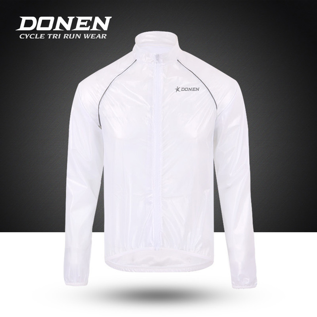 DONEN Waterproof Cycling Jacket Men Rainproof MTB Bike Wind Coat Road Bicycle Jacket Raincoat Cycling Clothing Ropa Ciclismo