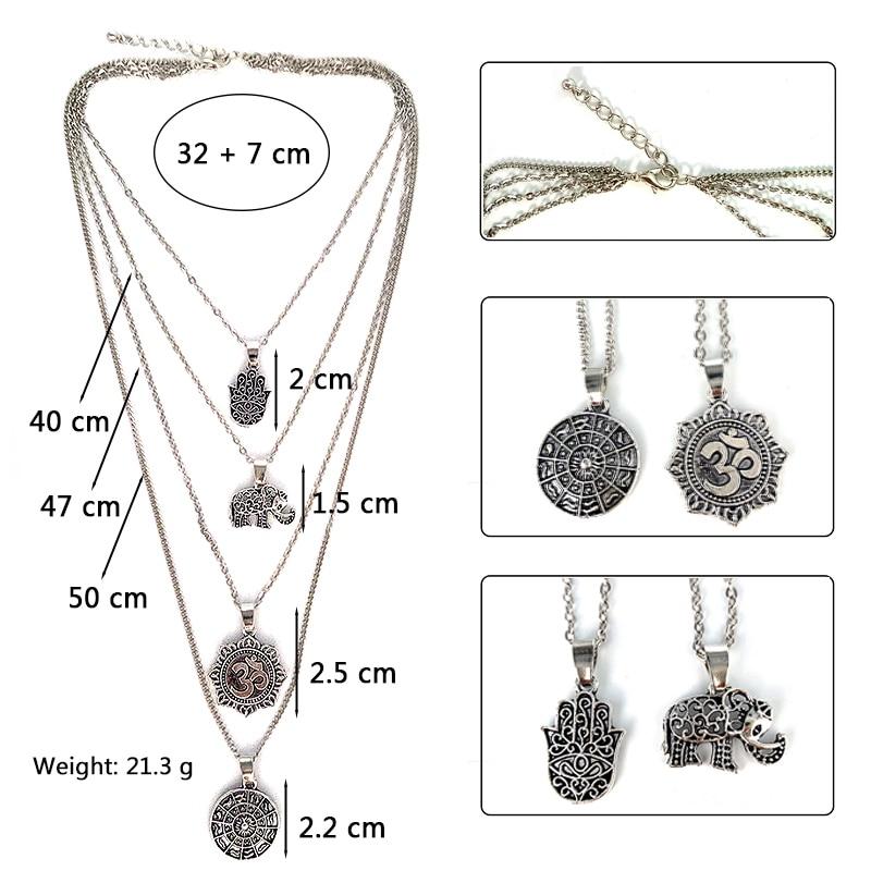 Women's Boho Style Multilayer Necklace 5