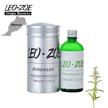 LEOZOE Rosemary Essential Oil Certificate Of Origin Morocco Authentication Aromatherapy Rosemary Oil 100ML Huile Essentielle
