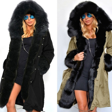 Womens Winter Thickening Outwear   Parkas   Female Winter Warm Coat   Parkas   Jacket Gifts 3 Colors