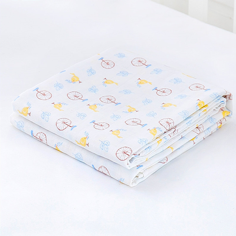 Spring Summer Thin Baby Blankets Breathable Baby Bath Towel Newborns Swaddle Wrap Infant Quilt Baby Bedding Blanket Envelope