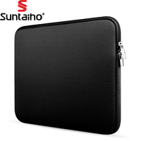 Newest Soft Sleeve Laptop Bag Case For Macbook Air Pro Retina 11 13 15 Inch Zipper