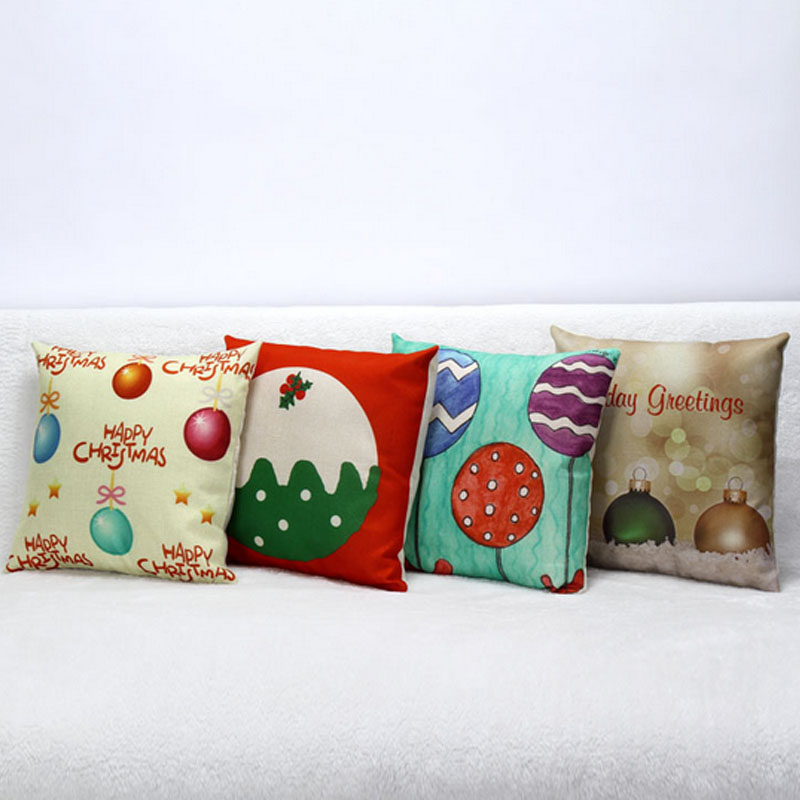 2015 christmas cushion home decor pillows decorate luxury decorative cushionschristmas decorations - Christmas Decorative Pillows