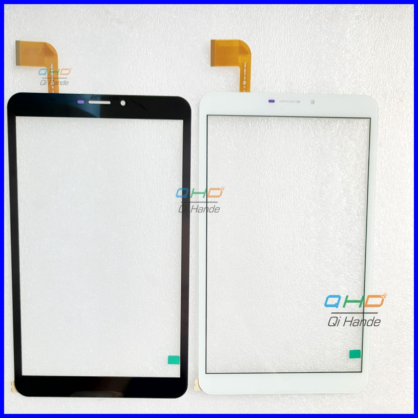 Touch Screen Digitizer For 8 inch teXet X-pad RAPID 8.2 4G TM-8066 Tablet Touch panel Glass Sensor replacement Free Shipping 7 inch touch screen digitizer glass sensor panel for texet eplutus g27 free shipping