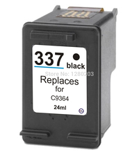 1 Piece 337 Black Ink Cartridge for HP Photosmart 2575 Inkjet Printers