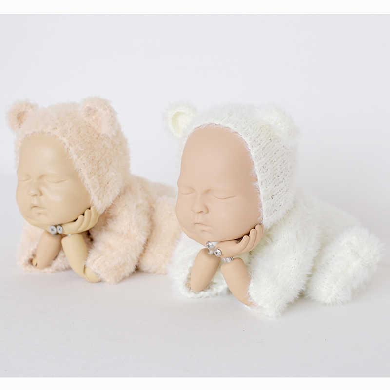 04486f0e1 Detail Feedback Questions about Newborn Fuzzy Teddy bear Bonnet Suit ...