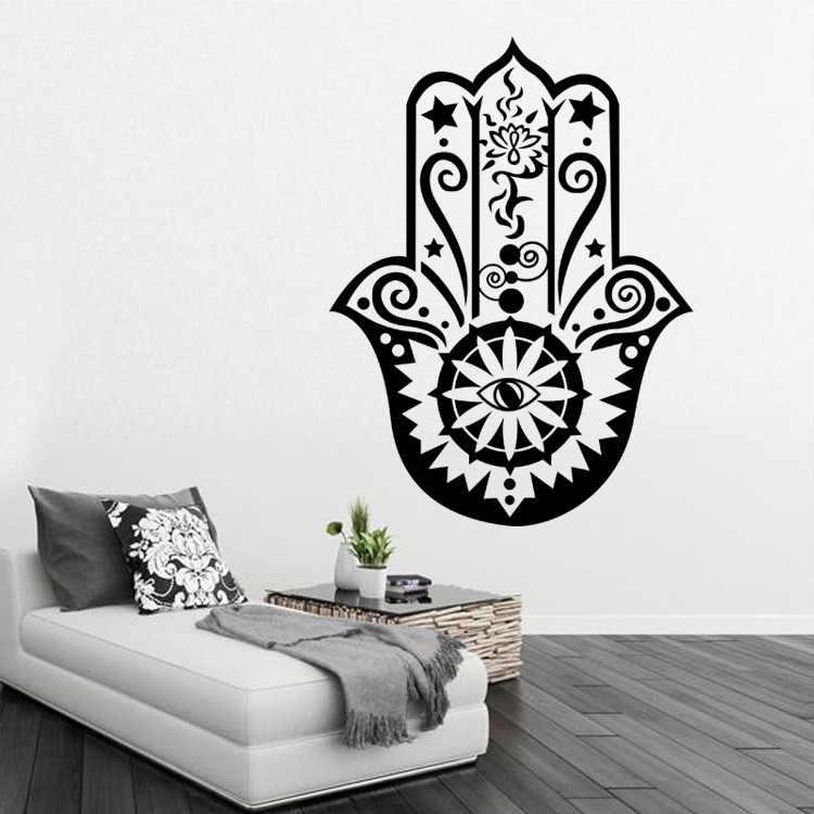 detail feedback questions about hamsa hand pvc romantic living room